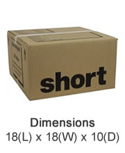 Small Cardboard Boxes - Lyme Bay Storage, East Devon